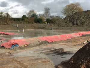 Groundworks Services in Devizes, Wiltshire